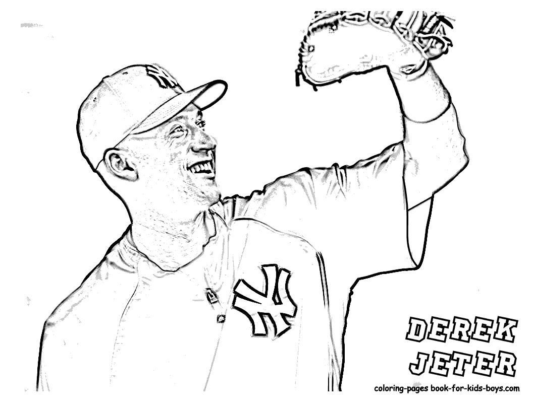 1056x816 Coloring Pages Yankees Coloring Page Fun
