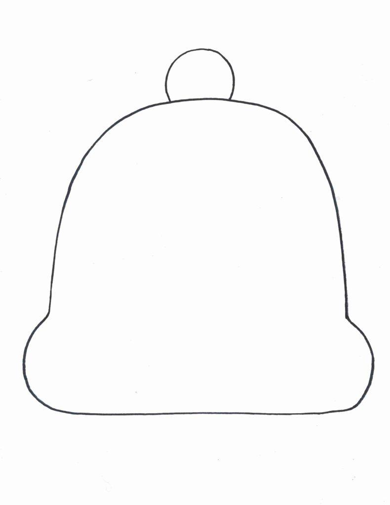 790x1024 Winter Hat Template Olegratiy Coloring Page January Yarn
