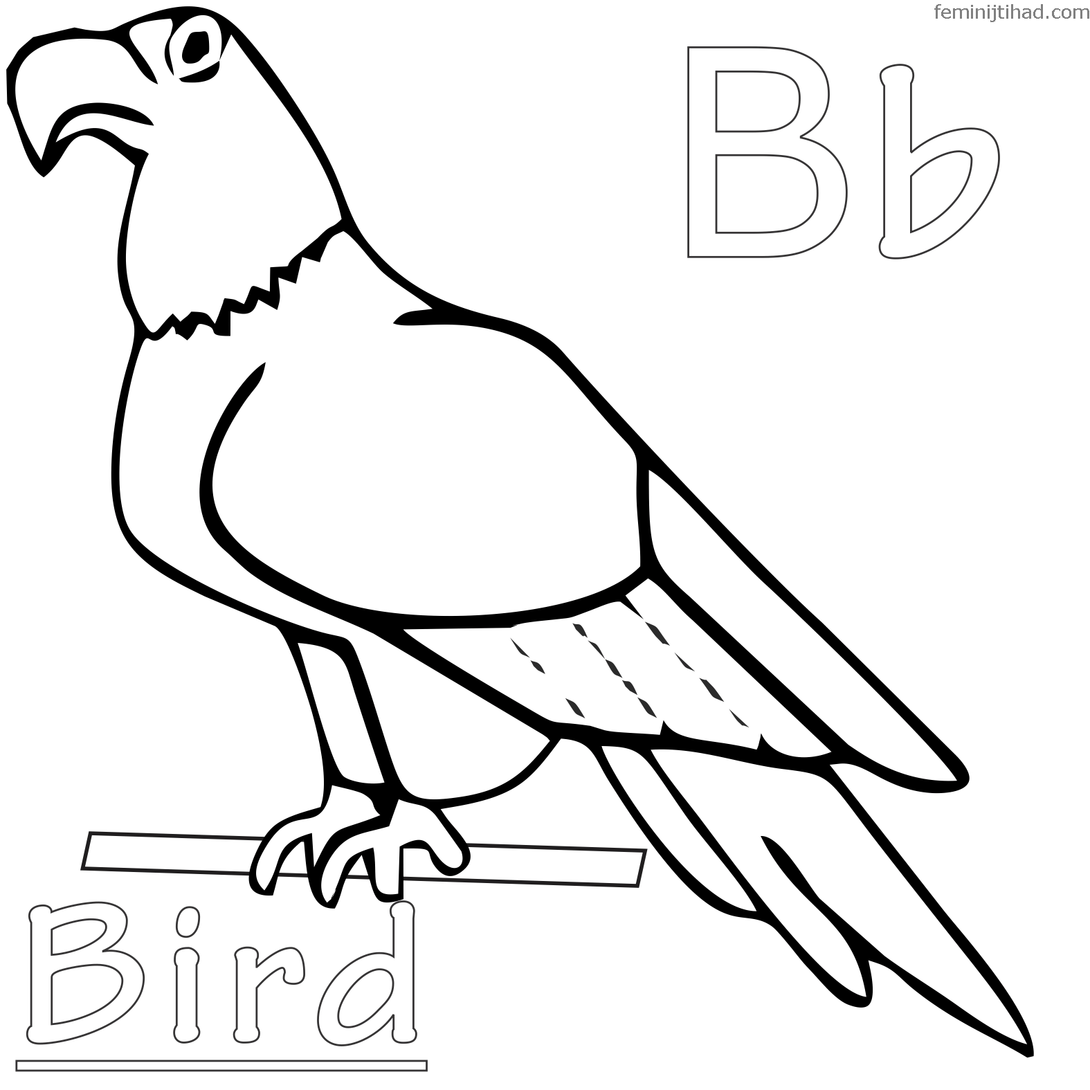 graphic about Free Printable Bird Coloring Pages referred to as Yellow Hen Coloring Web pages at  No cost for