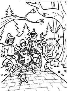 236x314 Download Wizard Of Oz Coloring Pages Church Young Women