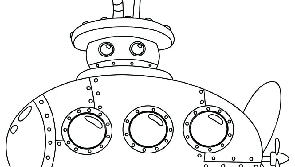 960x544 Yellow Coloring Page The Musical Yellow Submarine Coloring Pages