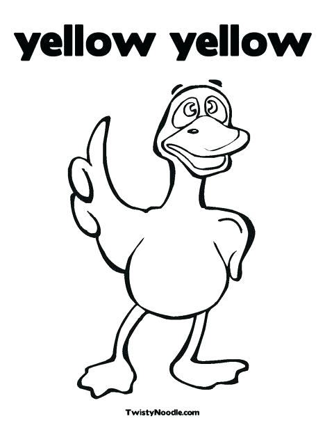 468x605 Yellow Coloring Sheets Free Printable Coloring Pages For Kids