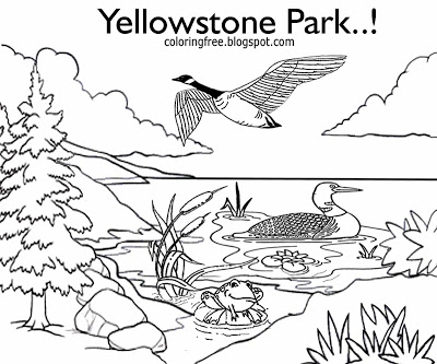 400x333 Lovely Yellowstone National Park Coloring Pages Ideas Diy
