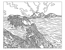 215x165 National Parks Coloring Book Sierra Club Online Store