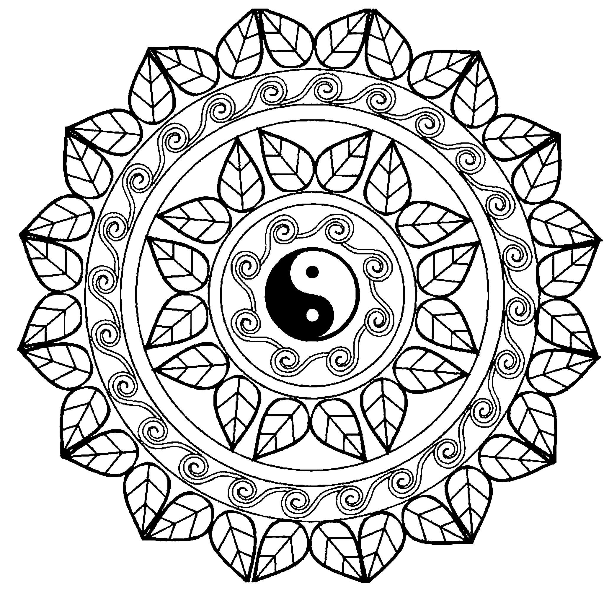 2046x2000 Mandala Yin Yang