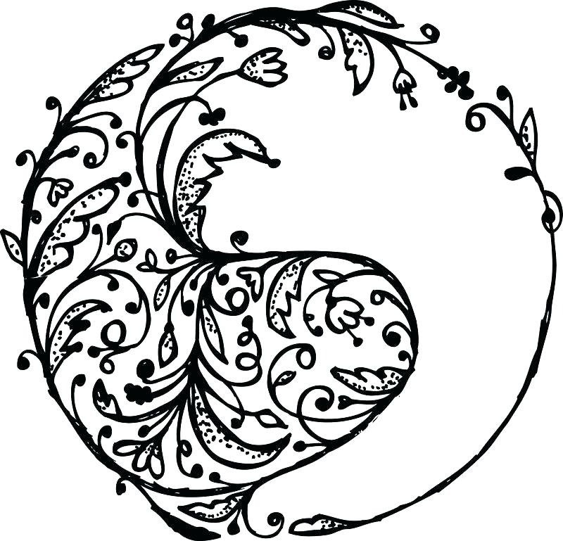 800x769 Yin Yang Coloring Pages Your Creations You Have Colored This