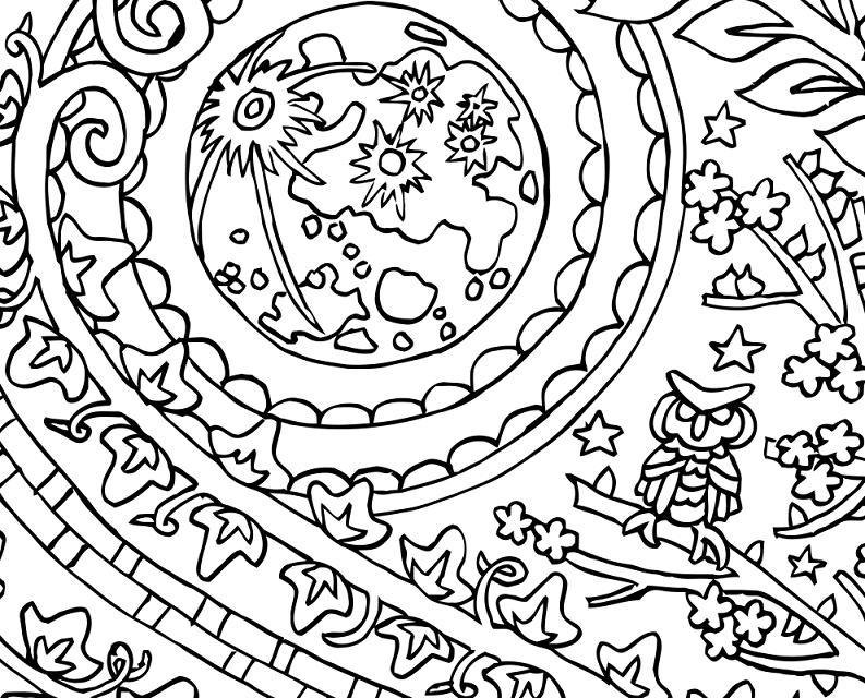 793x640 Yin Yang Moon And Sun