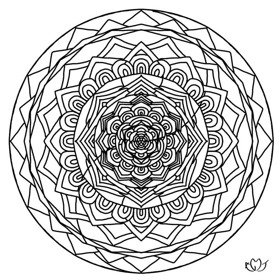 894x894 Best Of Yin Yang Mandala Coloring Pages Design Printable