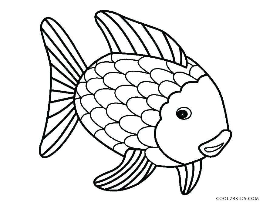 890x689 Fish Color Pages Fish Yin Yang Coloring Pages Rainbow Fish Color
