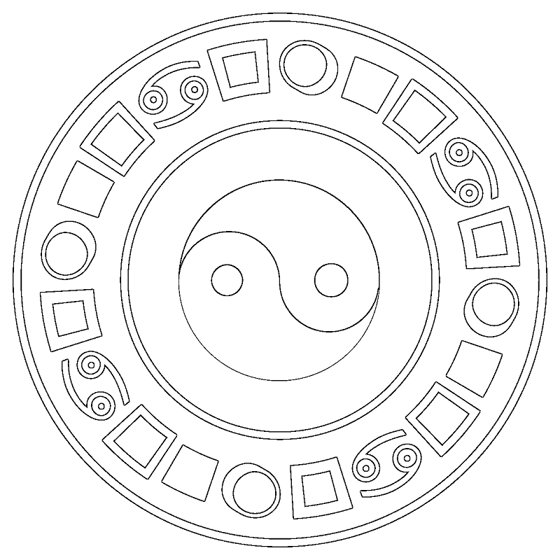 800x800 Japanese Religion Coloring Pages