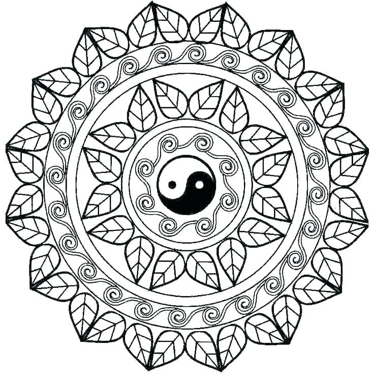 736x753 Mandalas Coloring Pages Mandala Coloring Pages Mandala Coloring