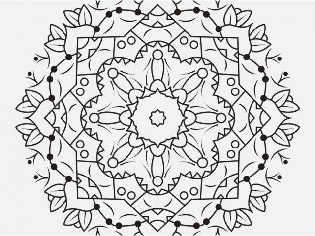 640x480 Printable Coloring Pages Yin Yang Photo Coloring Pages Mandala
