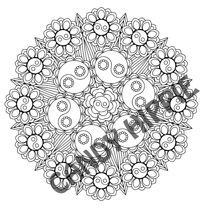 723x740 Yin Yang Bouquet