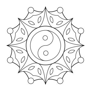 300x300 Coloring Pages Simple Designs Fresh Easy Mandala Coloring Pages S