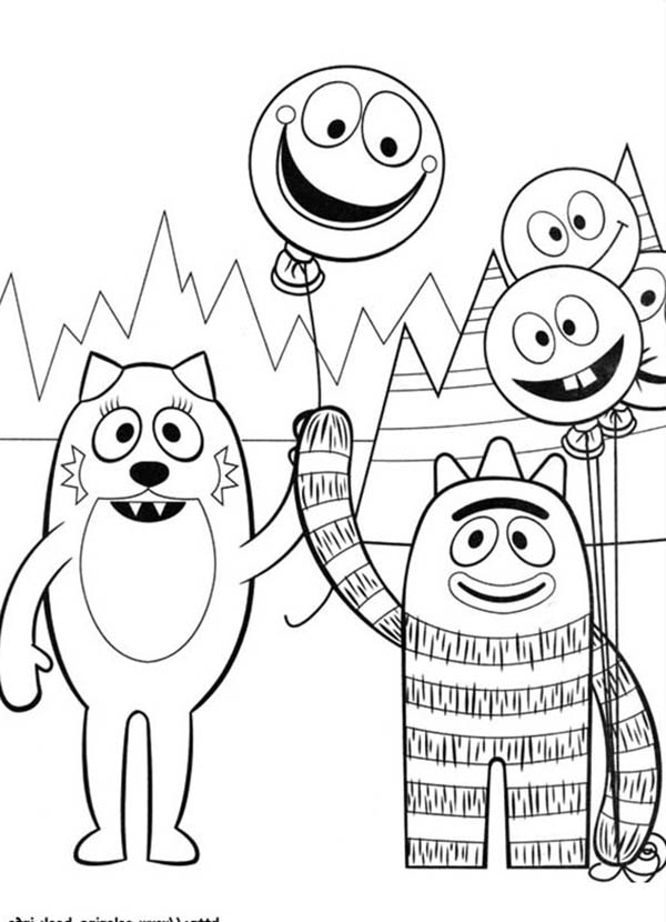 Yo Gabba Coloring Pages at GetDrawings.com | Free for ...