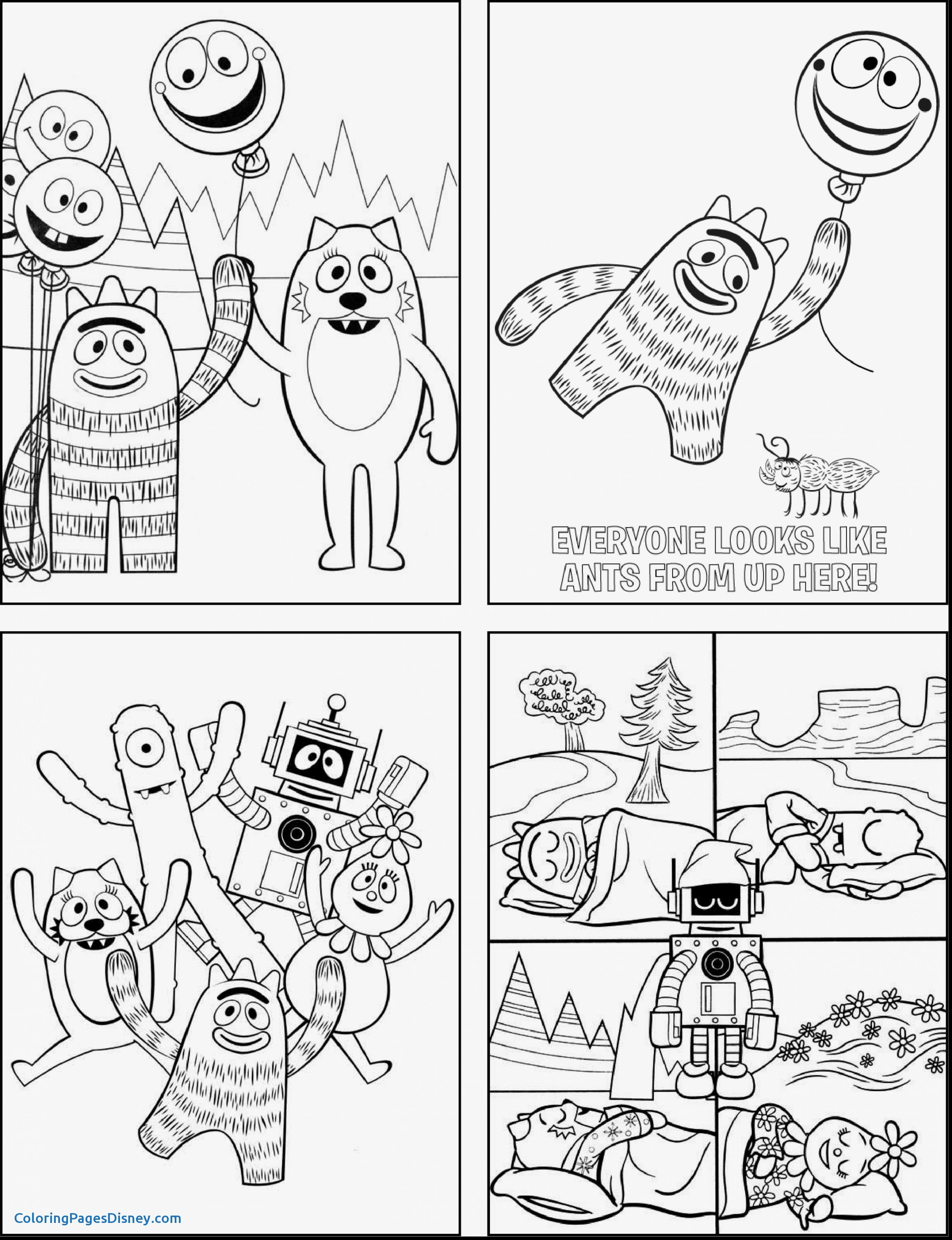 Yo Gabba Coloring Pages at GetDrawings | Free download