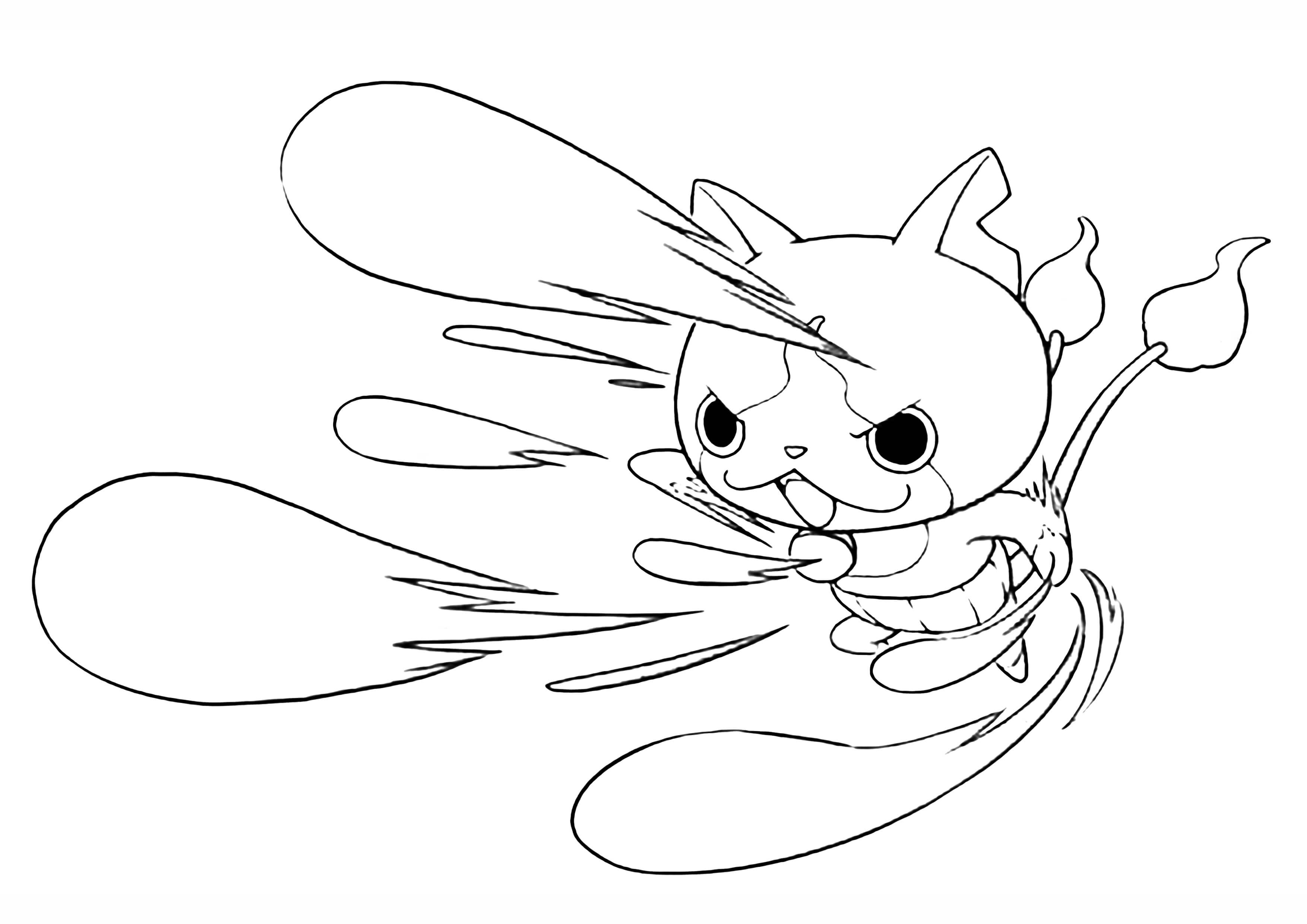 3508x2480 Yo Kai Coloring Pages Pictures Free Coloring Pages