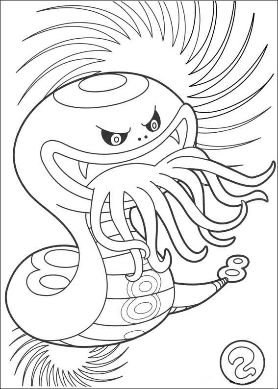 567x794 Kids N Coloring Pages Of Youkai