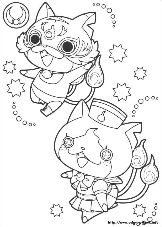 567x794 Luxury Yokai Colorear Coloring Ws