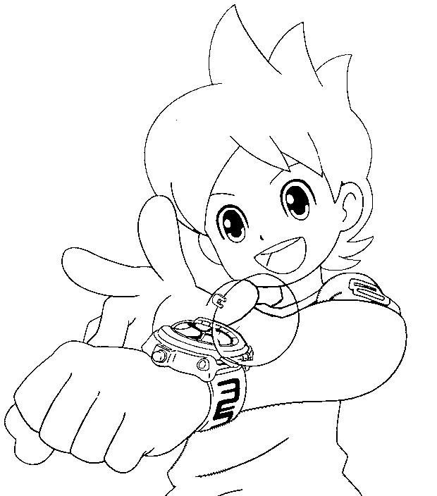 620x704 Yo Kai Watch Coloring Pages