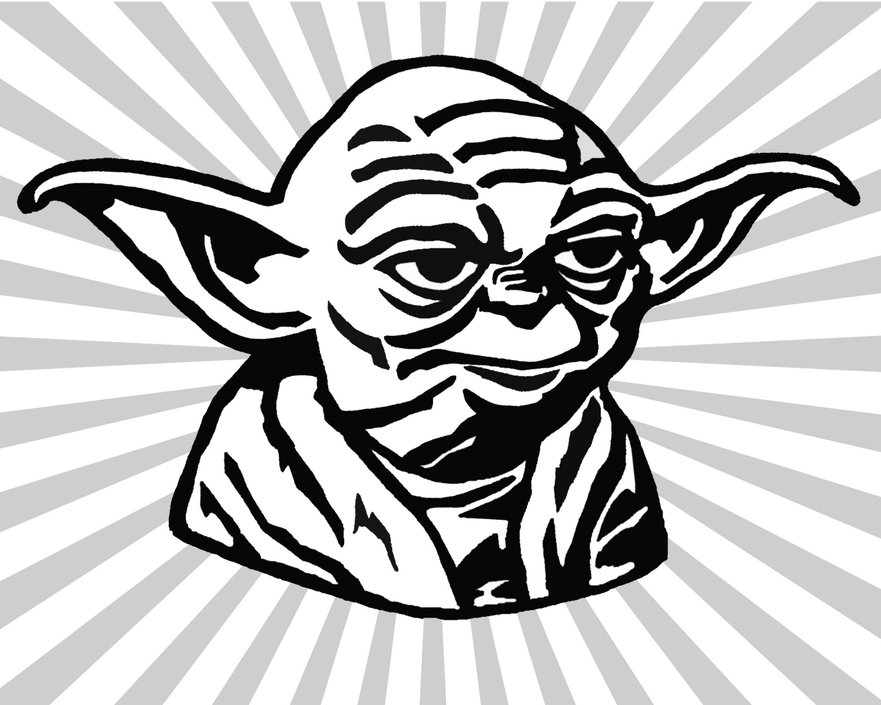 1280x1024 Star Wars Yoda Coloring Pages Download And Print For Free
