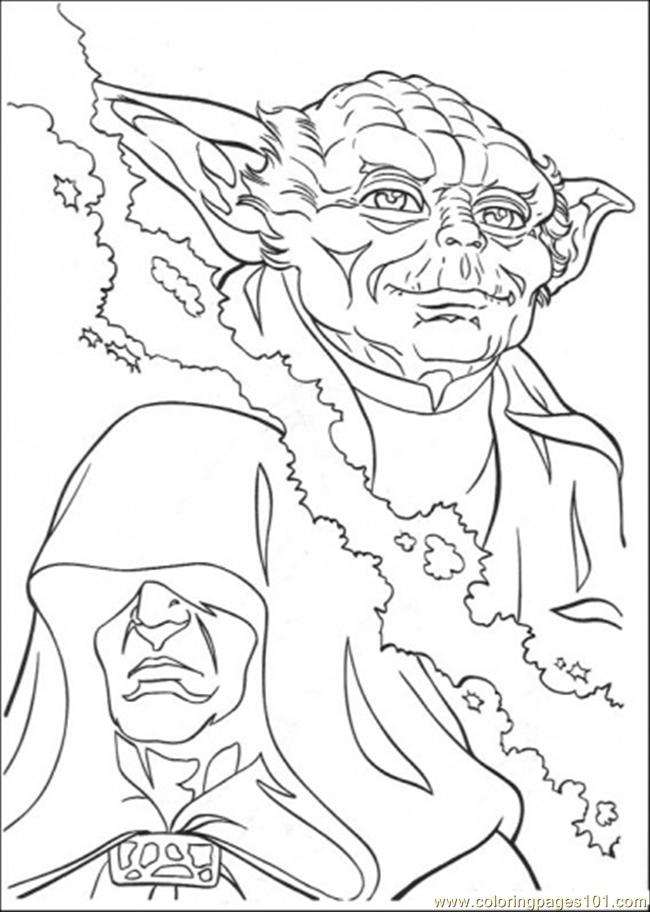 650x912 Star Wars Yoda Coloring Pages