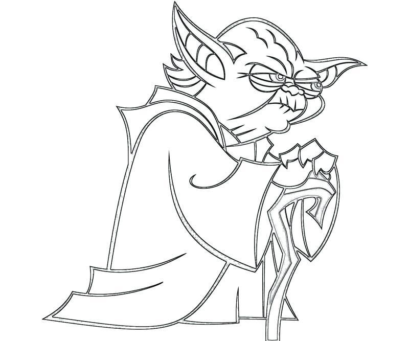 800x667 Yoda Coloring Pages Charming Coloring Pages For Your Line Drawings