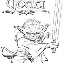 220x220 Jedi Knights And Yoda Coloring Pages