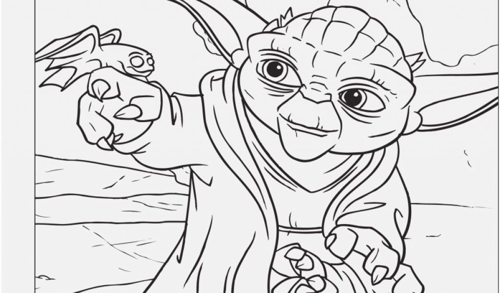 1024x600 Yoda Coloring Pages Picture Free Printable Star Wars Coloring