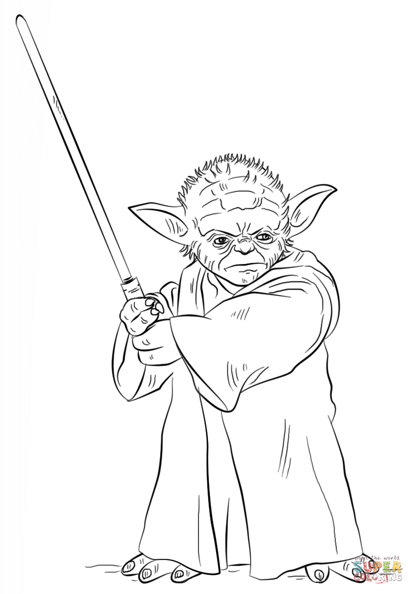 824x1186 Coloring Page Yoda Coloring Pages Yoda Coloring Pages Free