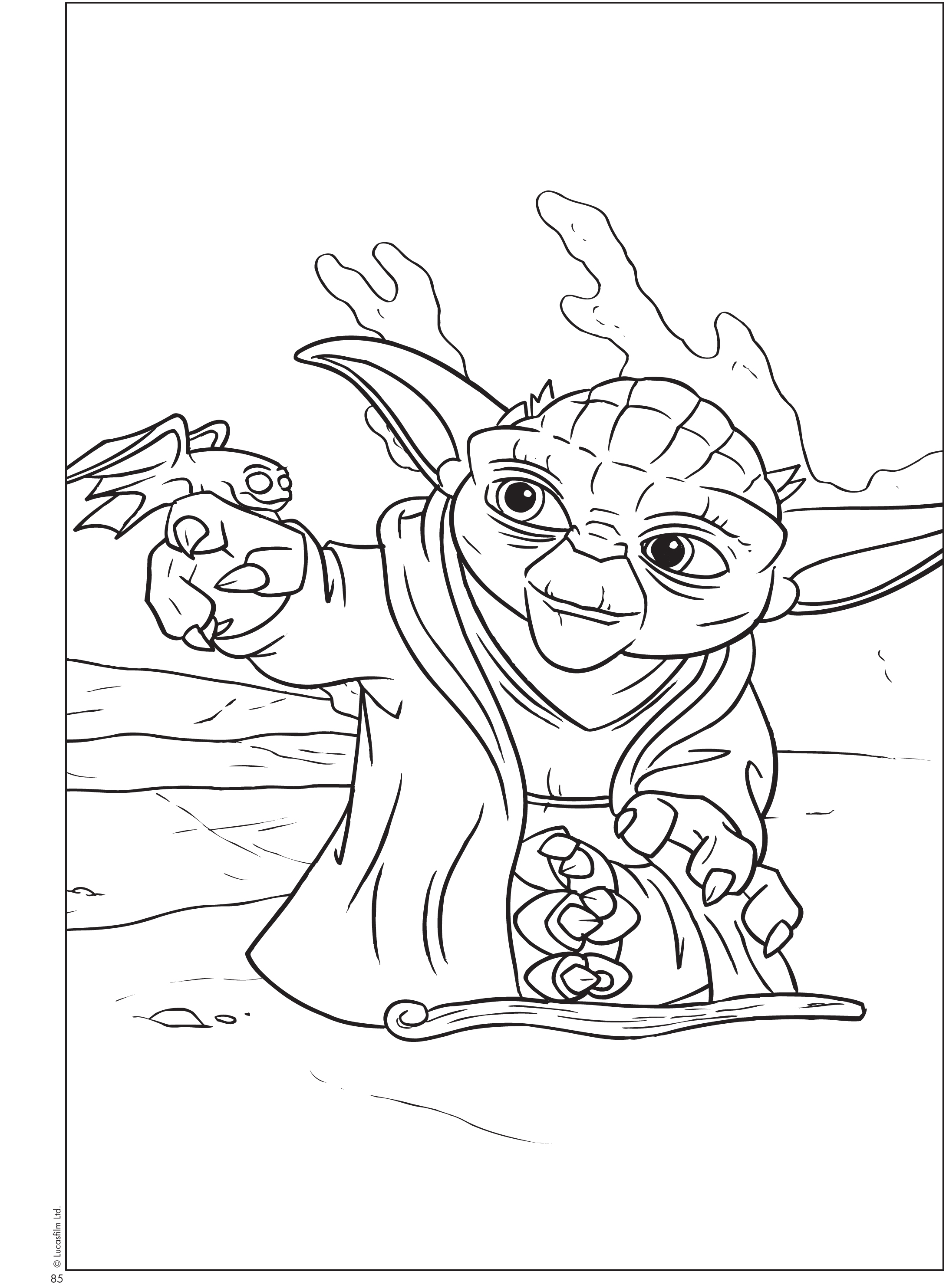 2179x2968 Free Printable Star Wars Coloring Sheets Queen Of Free Yoda