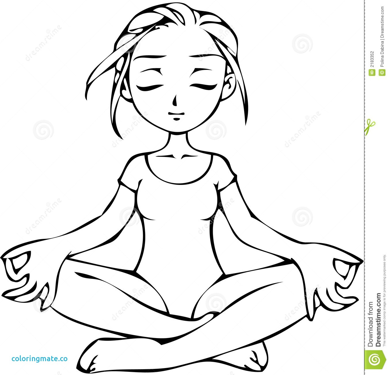 1355x1300 Meditation Coloring Pages Elegant Yoga And Meditation Coloring