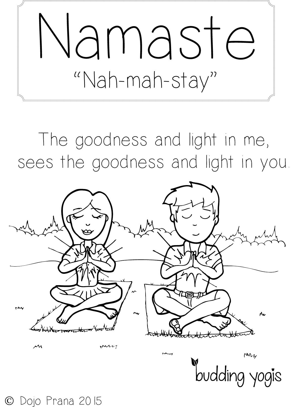 1204x1647 Yoga Colouring Pages