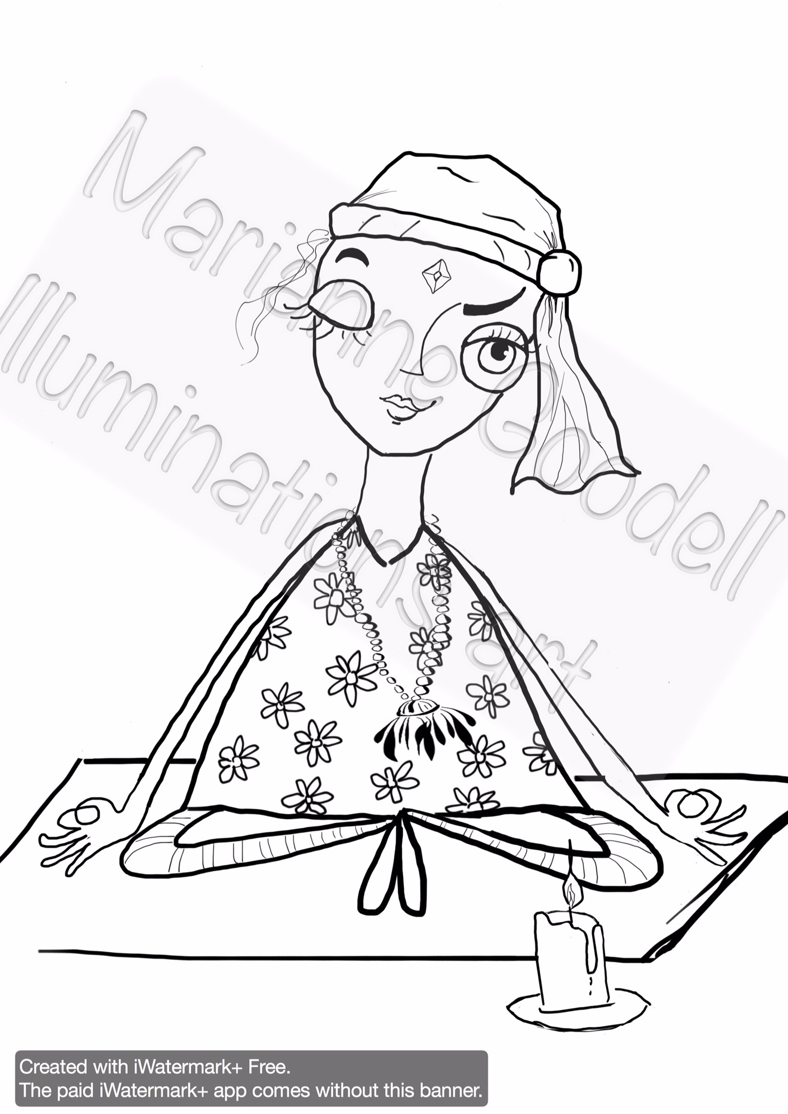 1536x2172 Yoga Poses Coloring Page Bundle Marianne Goodell