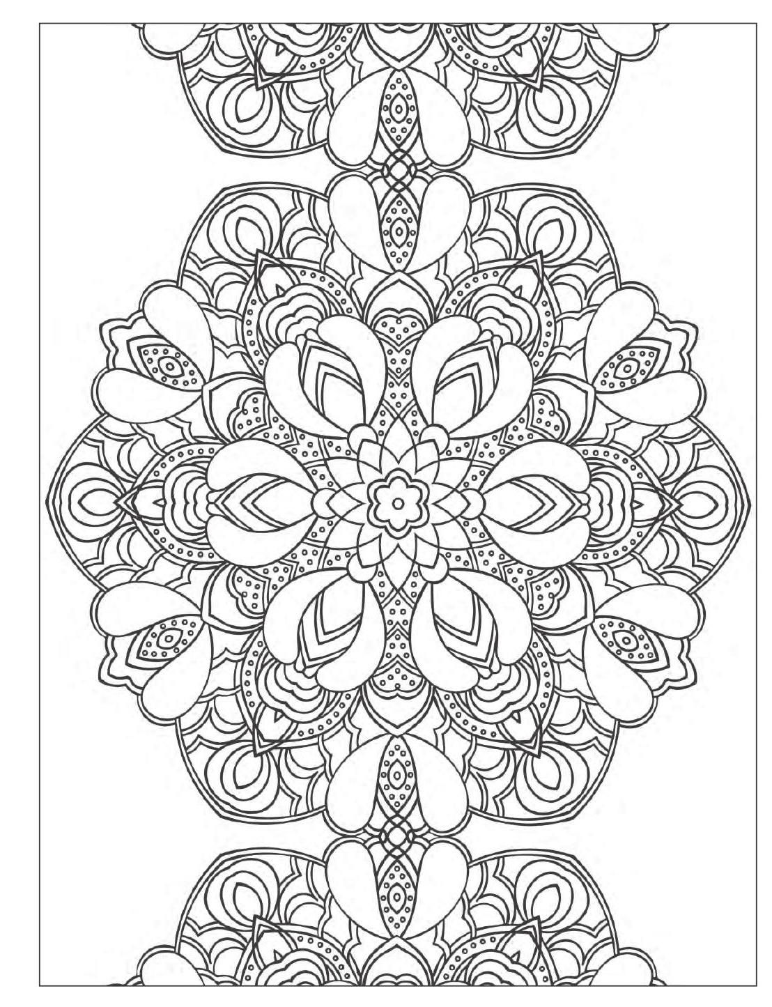 1108x1445 Yoga Meditation Coloring Book For Adults With Yoga Poses