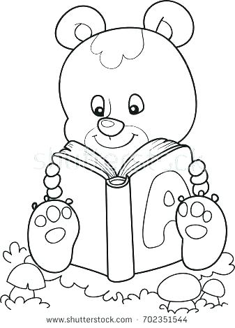 337x470 Little Bear Coloring Pages Little Bear Coloring Pages Little Bear