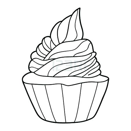 450x450 Yogurt Coloring Page Muffin Coloring Page Yogurt Coloring Page
