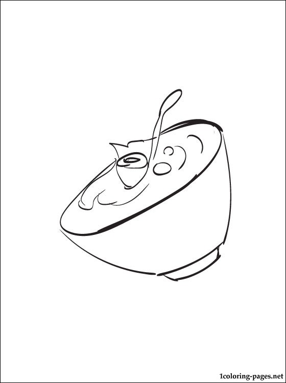 560x750 Yogurt Coloring Page Coloring Pages