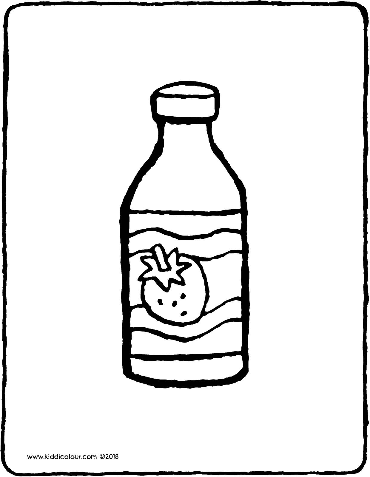 1240x1600 A Bottle Of Drinking Yogurt