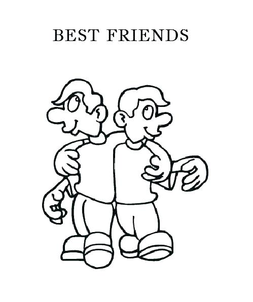 499x596 Friendship Coloring Pages For Preschool Friendship Coloring Pages