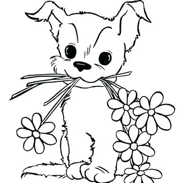 Yorkie Dog Coloring Pages At Getdrawings Com Free For Personal Use