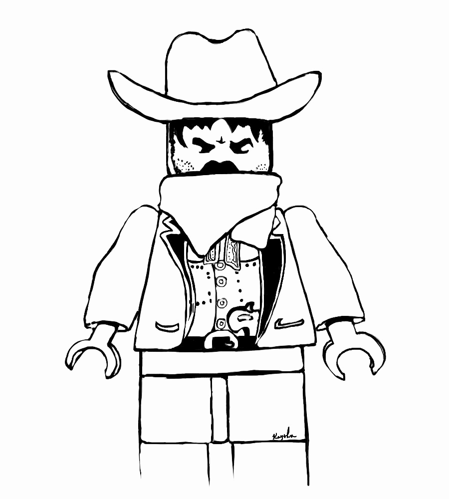 900x1000 Yosemite Sam Coloring Pages Image Lego Cowboy Coloring Pages