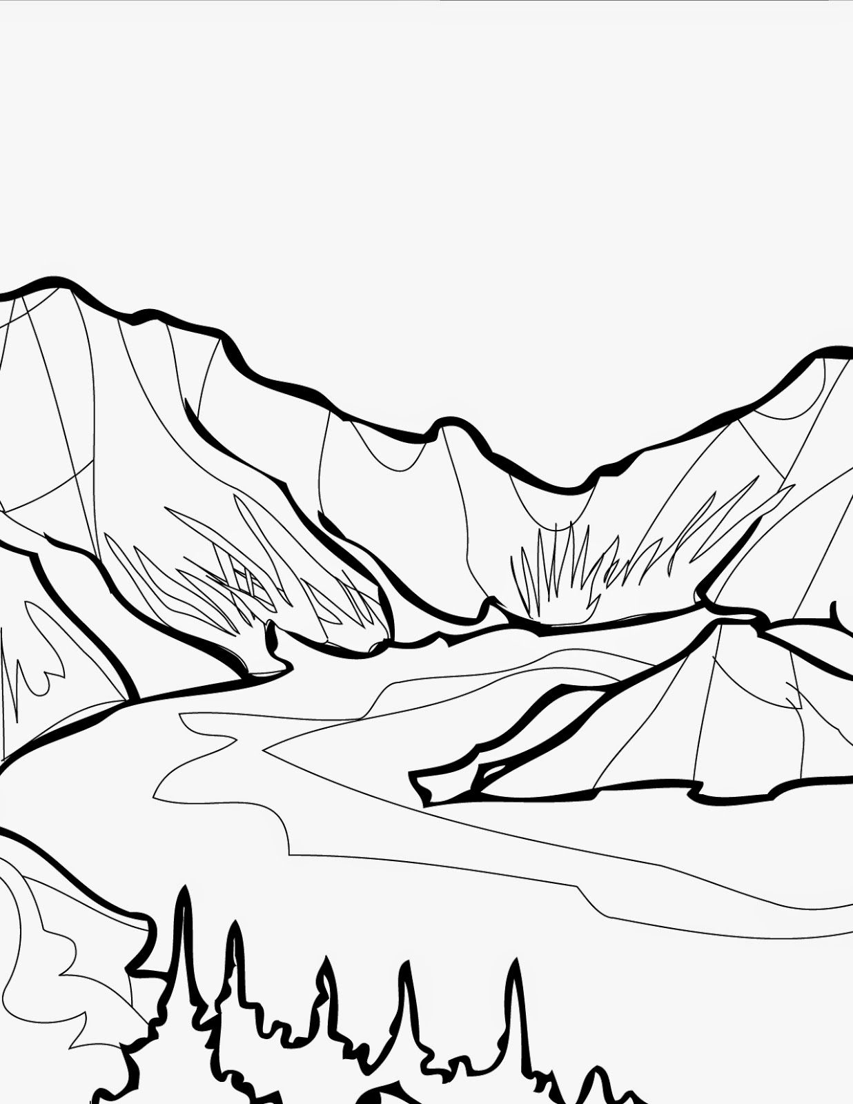 1236x1600 Free Coloring Pages National Parks