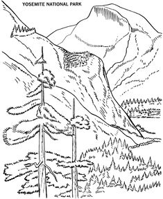 235x288 Free Printables For Sequoia National Park Arbor Day Coloring