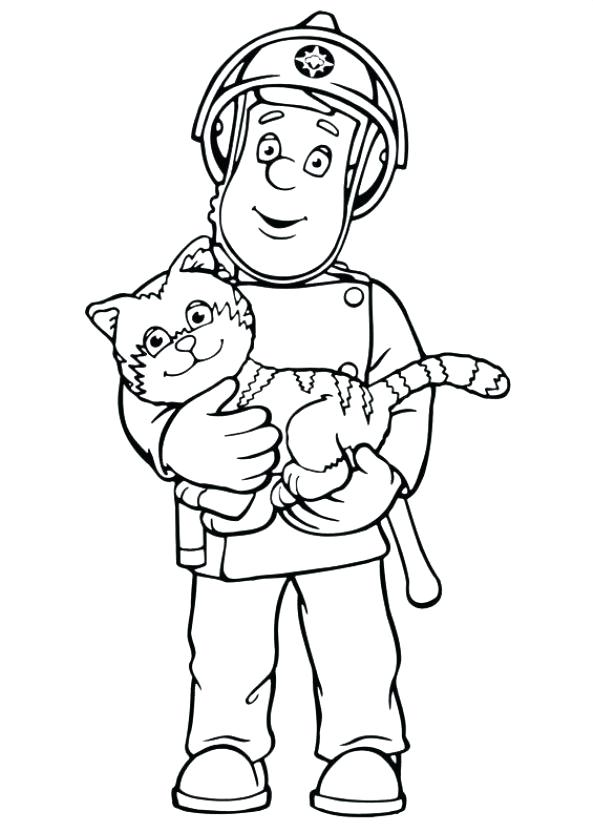593x832 And Cat Coloring Pages And Cat Coloring Pages Kids N Fun Com
