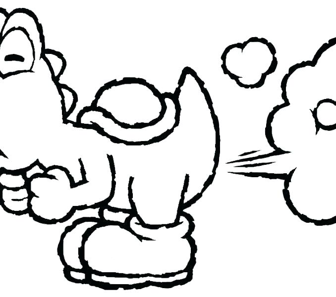 678x600 Yoshi Coloring Page Coloring Pages Marvelous Draw Coloring Pages