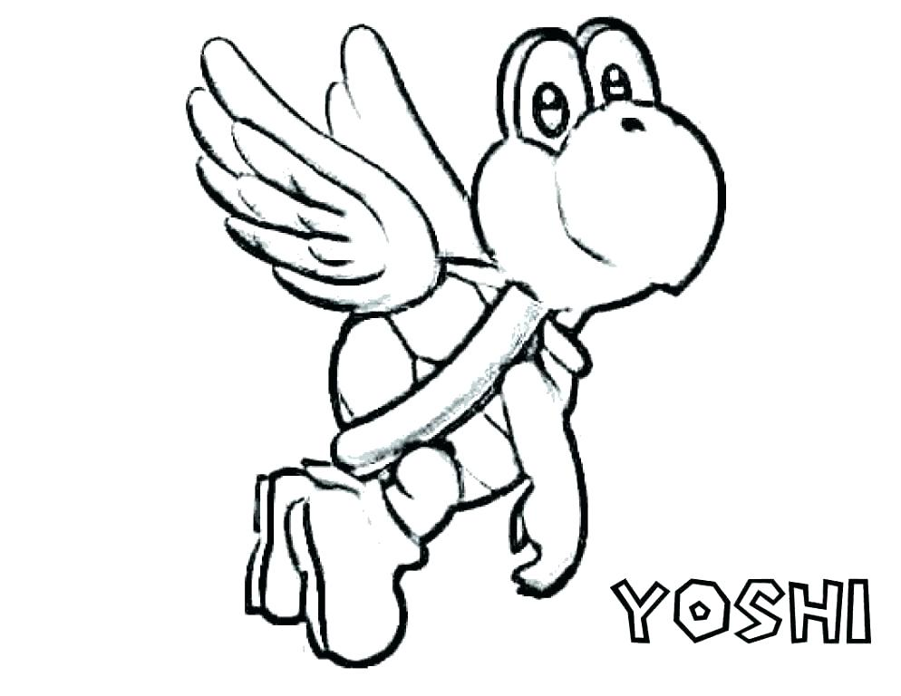 994x768 Baby Yoshi Coloring Pages To Print