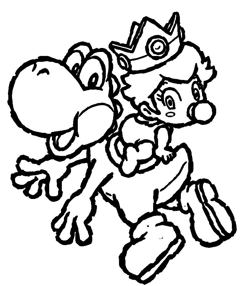 800x930 Free Printable Yoshi Coloring Pages For Kids Yoshi And Free