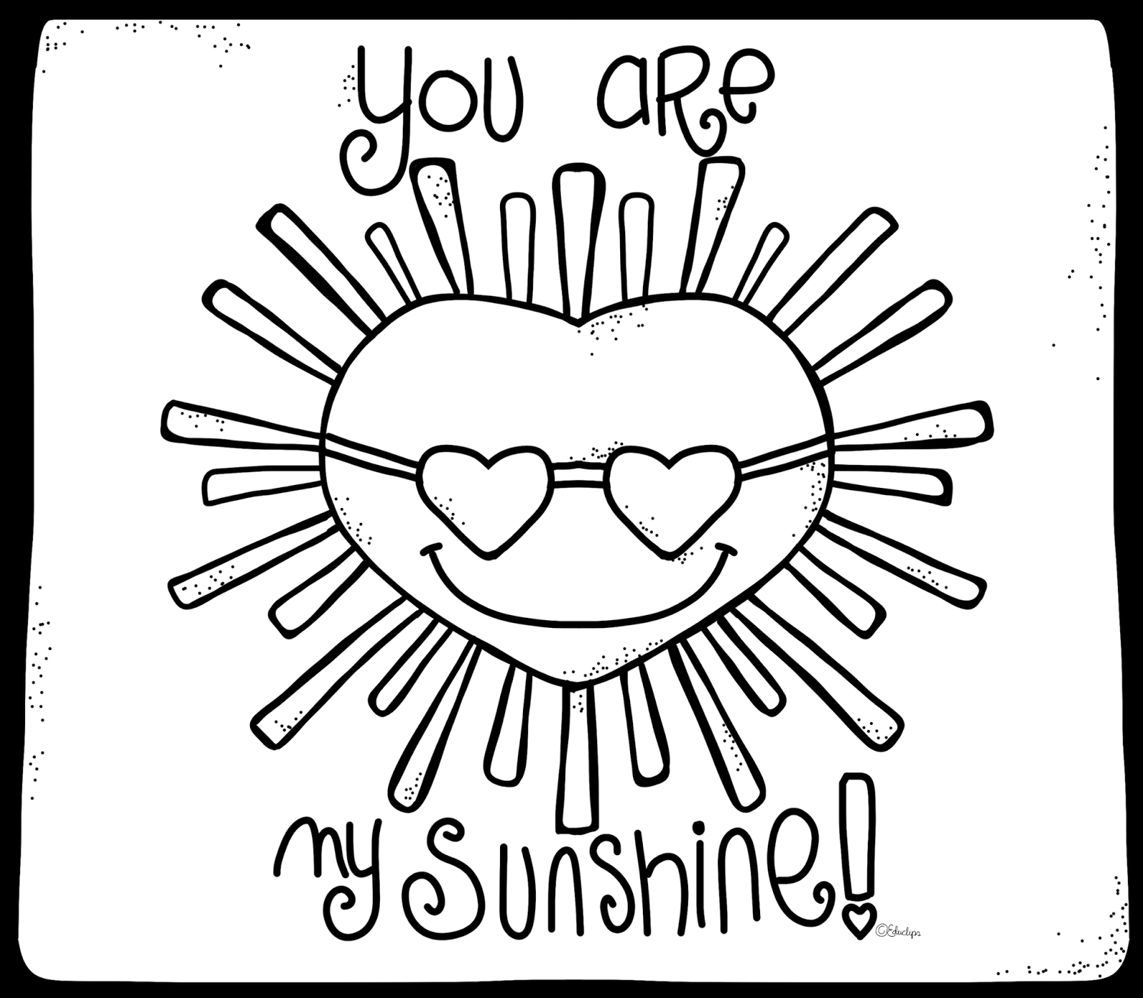 1600x1397 New You Are My Sunshine Coloring Pages Gallery Free Coloring Book