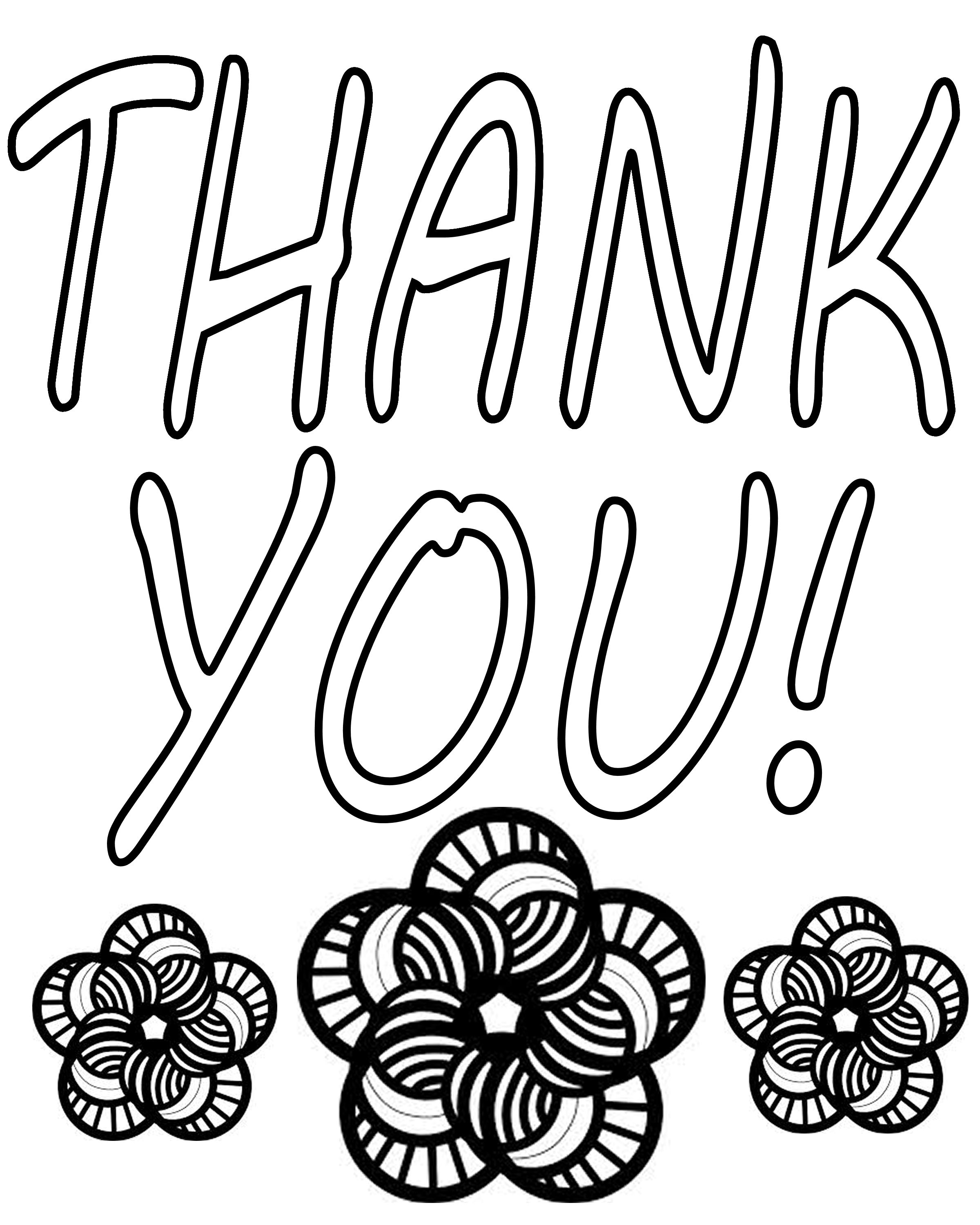 2400x3000 Good Thank You Coloring Pages On For Kids With Inside